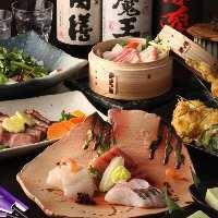宴会コースは3000円より。 ご予算のご相談もお気軽に。