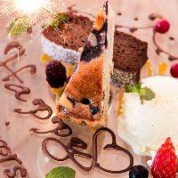 誕生日や記念日はスタッフが心を込めてお祝い致します♪
