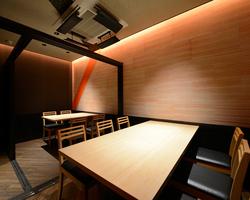 4名~10名程向けの個室は人気の為お早めにご予約を。