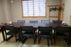 完全個室。華・宴・雅コースの予約にて承ります。(八名様迄)