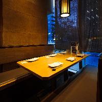 居心地の良い和の空間 用途に応じた個室は4名、6名様用を完備