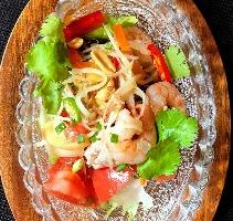 青パパイヤのサラダ~野菜美味しいベトナム料理