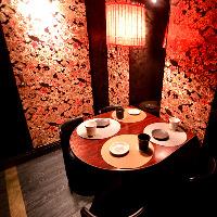 【立川ドア付き完全個室】接待や会社宴会など幅広く使えます。