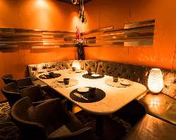 【VIP個室】 6~10名様用/大切な方と過ごしたい贅沢な空間
