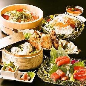 黒毛和牛×活鮮魚 マグロ婆娑羅 上野店の画像1