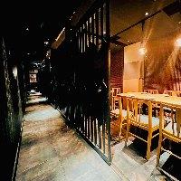 【セパレート式個室】 2~40名様用/少人数から団体に人気の個室