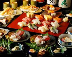 〆はお寿司でご宴会