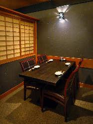各種ご宴会に最適! 人数に合わせた個室をご用意しております。
