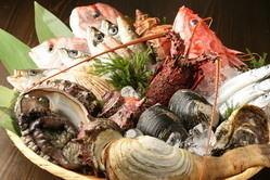 ■新鮮な食材■ 三浦の有機野菜と、相模湾直送鮮魚