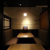 【浜松町エリアの個室居酒屋】ゆったり宴会…2~36名様迄可能。