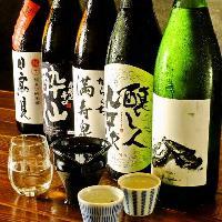 【レア日本酒】蔵元さんとのコラボ酒もあります!