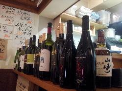 がぶ飲みグラスワインは500円より!気軽にご注文頂けます★