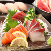 1日3組限定!お刺身5種&串焼き5種食べ飲み放題コース3,500円
