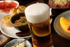 ~ビール~ 当店のは泡にこだわっております!!