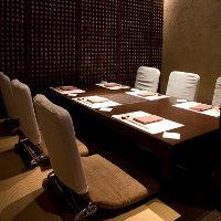 ビジネスランチに人気の個室もご用意ございます。