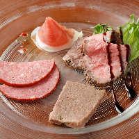 小岩井農場産の黒毛和牛のステーキがメインの『ステーキプラン』