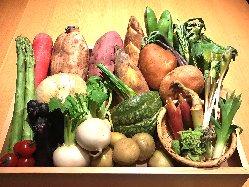 季節ごとの新鮮な食材をお楽しみください。