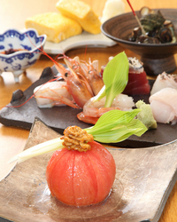 天ぷら、土鍋ご飯の他にも、酒の肴も数多くご用意
