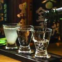 季節の日本酒を 取りそろえております。