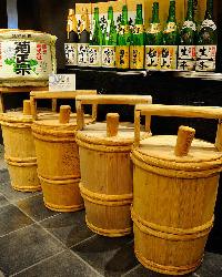 菊正宗を含む 充実の飲み放題メニュー