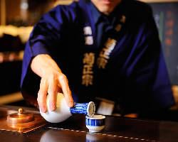 日本酒初心者の方でも利酒師が お好みの日本酒をご提案致します