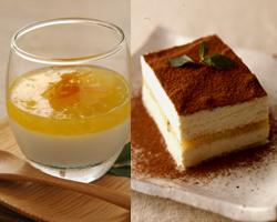【豆乳デザート】 大豆の甘さを活かしたスイーツ。