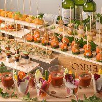 お料理16品+ドリンク60種のリーズナブルなパーティープラン