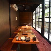 【個室】 接待や会食に最適な半個室や完全個室を完備!