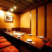 ◆ゆっくり出来る人気の個室 最大36名様まで大丈夫です