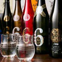 【美酒銘酒】 厳選して取り揃えた日本酒は常時50種以上