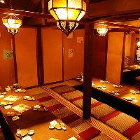 団体様まで大歓迎!個室へご案内致します!新検見川個室居酒屋