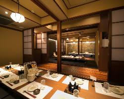 ◆宴会個室完備 最大38名様まで対応の宴会個室を16部屋完備