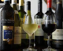 ワイン豊富!サワー、カクテル、ノンアルコールも充実!