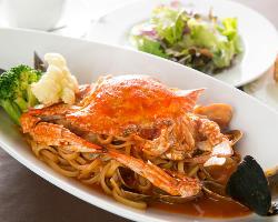 旬の食材を使用したシェフこだわりの本格イタリア料理を堪能