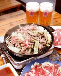 ■本場「北海道のビール園」 抜群にうまい!ジンギスカン