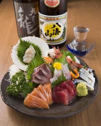 ●和食ならではの品がございます。日本酒とご一緒に。