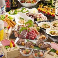 季節の絶品コースは4000円~ご用意!【三越前/宴会/飲み会】