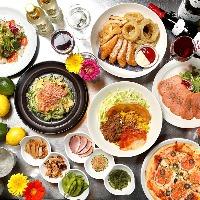 沖縄料理ベースの創作料理。お客様のご要望もお聞きします!
