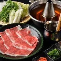 【しゃぶしゃぶ】 個室でこだわりのお肉で楽しくしゃぶしゃぶ!