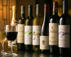 和食とワインの素敵なマリアージュ。今宵も美酒に酔いしれる…