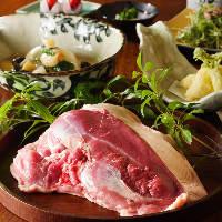 【素材へのこだわり】 肉も野菜も厳選したものを使用しています