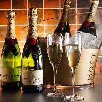 【シャンパン】 特別なディナーには特別のお酒をお楽しみ下さい