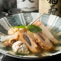 【おでん】 あっさりしながらもコクと風味のある京風おでん