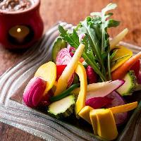 元気な鎌倉の野菜たち。色鮮やか・みずみずしい味わい。