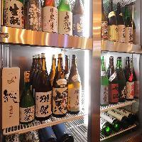 魚盛の魚介料理には日本酒!獺祭、而今、伯楽星など旨い地酒入荷!
