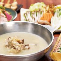 伊達鶏水炊き鍋、1年中愛されている名物鍋です1度はご賞味あれ!