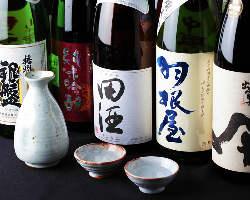 日本酒に、こだわりをもっております