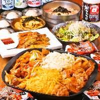 サムギョプサル食べ放題コース。飲み放題込み3980円