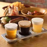 ジューシーな肉料理に合わせたビールは世界各国からご用意☆