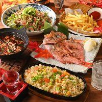 【宴会】 炭火で炙った干物は絶品。鍋付きもコースもご用意!
